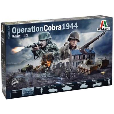 Italeri Coffret de maquettes : opération cobra 1944