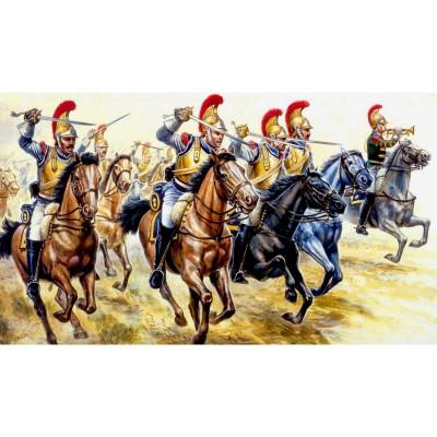 Italeri Figurines guerres napoléoniennes: cavalerie lourde française