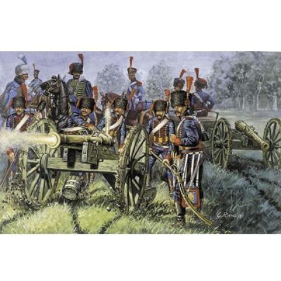 Italeri Figurines guerres napoléoniennes: artillerie de la garde française 1:72