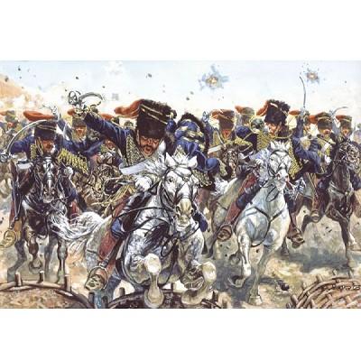Italeri Figurines guerre de crimée: hussards britanniques