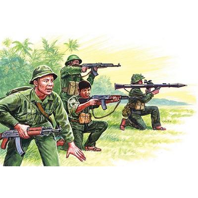 Italeri Figurines Guerre du Vietnam : Vietcongs