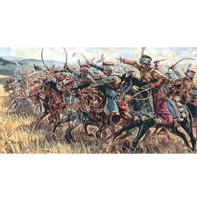 Italeri Figurines guerres napoléoniennes: cavalerie mamelouk 1/72