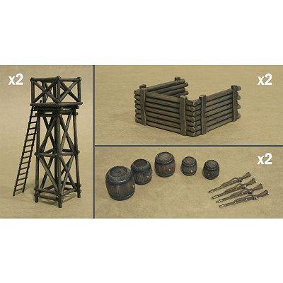 Italeri Accessoires militairespour Champ de bataille guerres napoléoniennes - 56 pièces