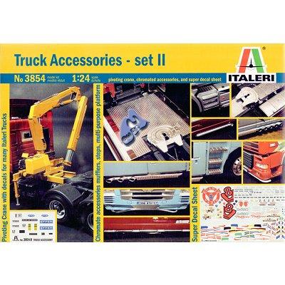 Italeri Accessoires pour camions italeri 1/24: set ii