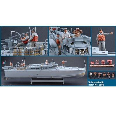 Italeri Figurines 2ème guerre mondiale : marins italiens