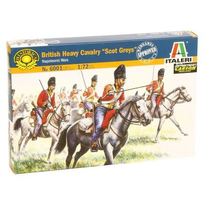 Italeri Figurines guerres napoléoniennes: cavalerie lourde britannique
