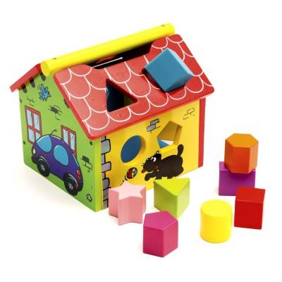 La maison des formes l 39 arbre jouer magasin de jouets for Arbre maison jouet
