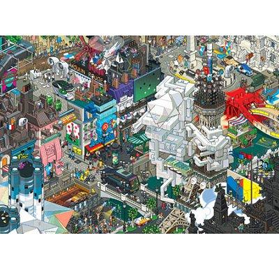puzzle 1500 pi ces eboy paris heye magasin de jouets pour enfants. Black Bedroom Furniture Sets. Home Design Ideas
