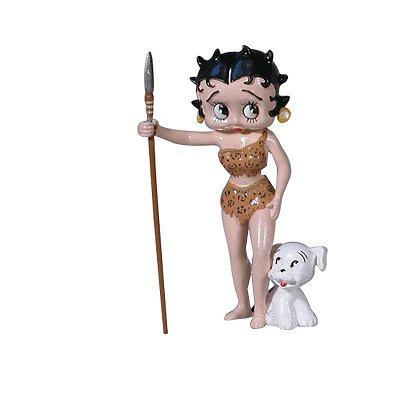 Plastoy Figurine betty boop robe jungle