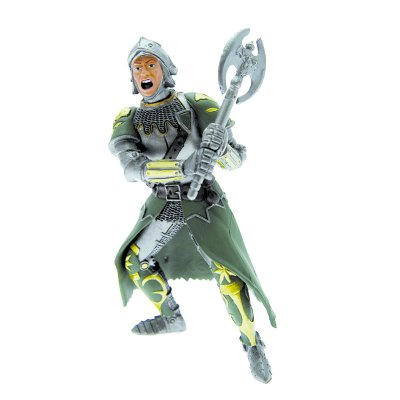 Plastoy Figurine chevalier vert