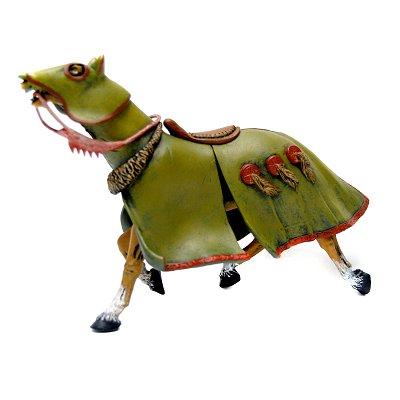Plastoy Figurine cheval du prince des loups