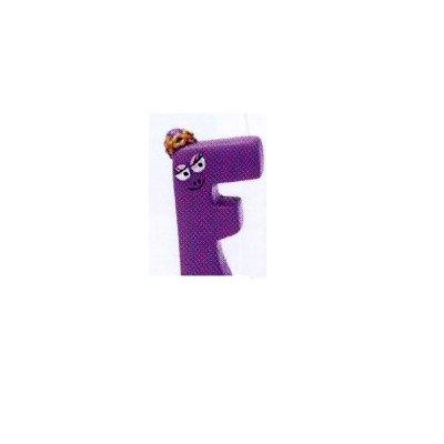 Plastoy Figurine barbapapa : lettre f : barbabelle