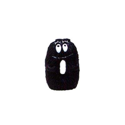 Plastoy Figurine barbapapa : lettre o : barbouille