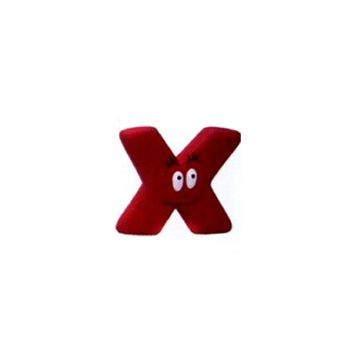 Plastoy Figurine Barbapapa : Lettre X : Barbidur