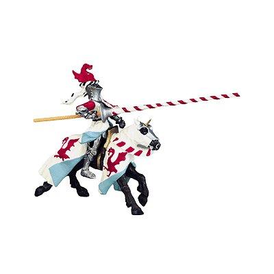 Plastoy Figurine cheval robe aux dragons
