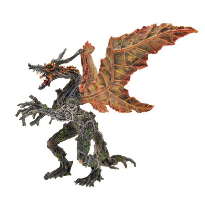 Plastoy Figurine Dragon végétal automne