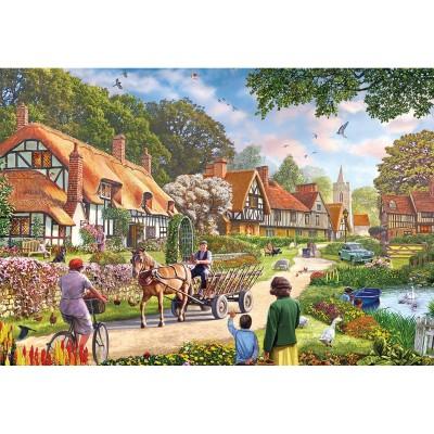 Gibsons Puzzle 100 pièces xxl : la vie rurale