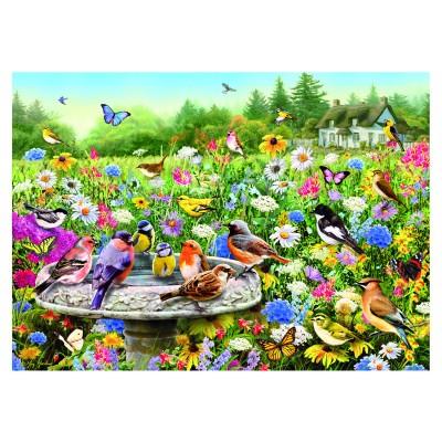 Gibsons Puzzle 100 pièces xxl : greg giordano : le jardin secret