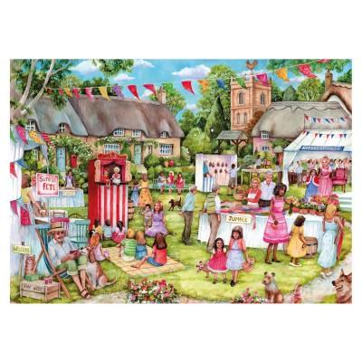 Gibsons Puzzle 100 pièces xxl : debbie cook : fête de l'été
