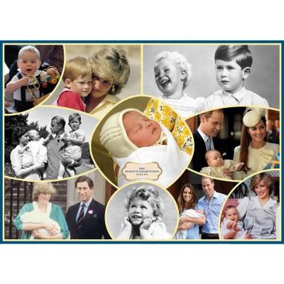Gibsons Puzzle 1000 pièces : bébés royaux