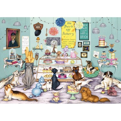 Gibsons Puzzle 1000 pièces : bark off bakery