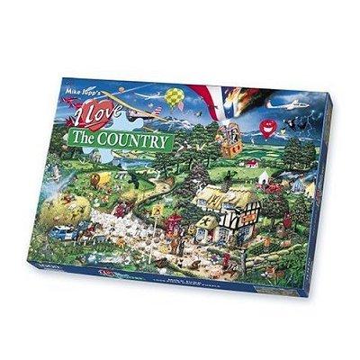 Gibsons Puzzle 1000 pièces - j'aime la campagne