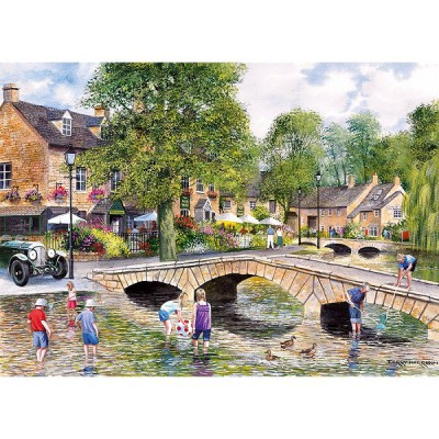 Gibsons Puzzle 1000 pièces - bourton-on-the-water, gloucestershire