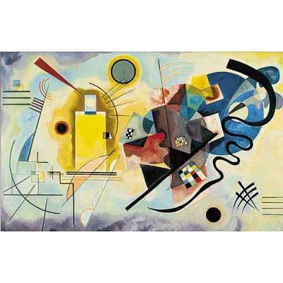 Editions Ricordi puzzle 1000 pièces - art - kandinsky : jaune, rouge, bleu