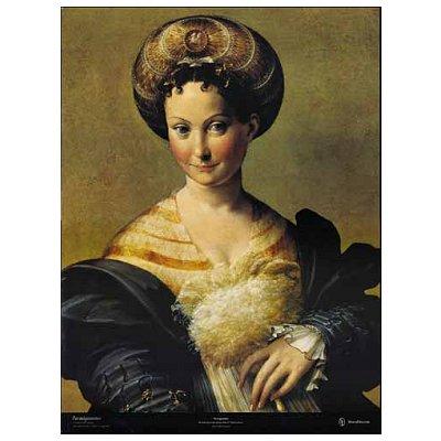 Editions Ricordi puzzle 1000 pièces - art - parmigianino : l'esclave turque