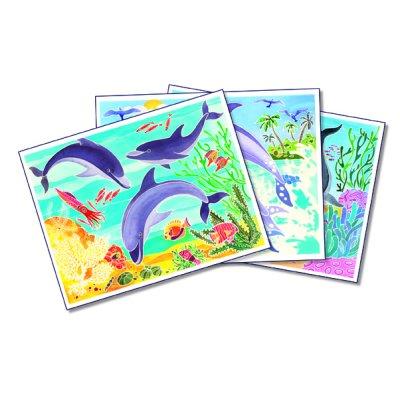 Fun Frag / ed debroise recharge aquarellum dauphins