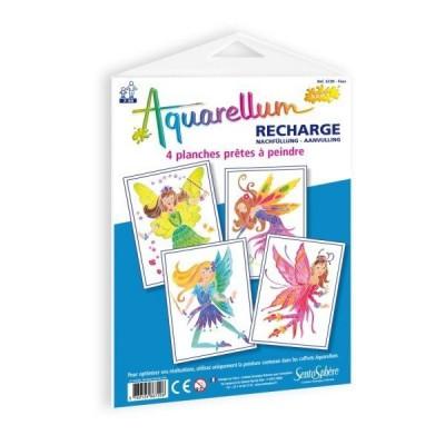 Fun Frag / ed debroise recharge aquarellum junior : fées