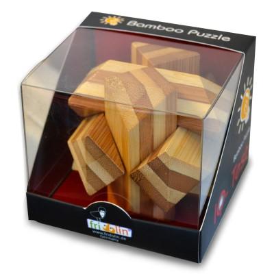 Gigamic Casse-Tête en bois bamboo : entrelacs
