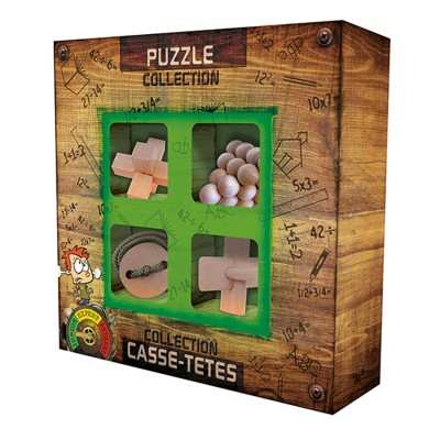 Gigamic Collection casse-Têtes bois junior