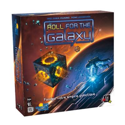Gigamic Jeu de société : Roll for the Galaxy