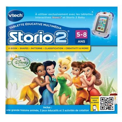 Vtech Jeu pour console de jeux Storio 2 : Les fées Disney
