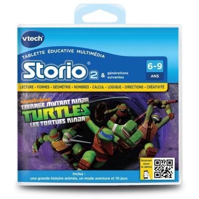 Vtech Jeu pour console de jeux Storio 2 : Les tortues ninja