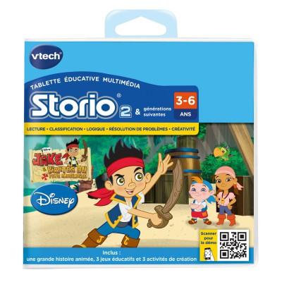 Vtech Jeu pour console de jeux Storio 2 : Jake et les pirates du Pays Imaginaire