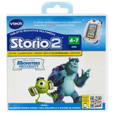 Vtech Jeu pour console de jeux Storio 2 : Monstres Academy. Jeu pour console de jeux Storio 2 : Monstres Academy