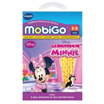Vtech Jeu pour console de jeux Mobigo : La boutique de Minnie. Jeu pour console de jeux Mobigo : La boutique de Minnie
