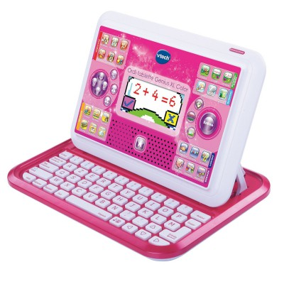 Vtech Ordinateur tablette genius xl color : rose