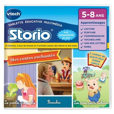 Vtech Jeu pour console de jeux Storio 2 : E-book animé : Mes contes enchantés