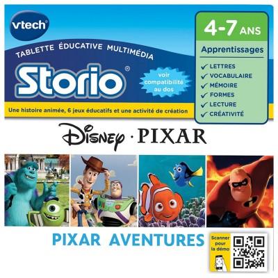 Vtech Storio avec Héros Pixar