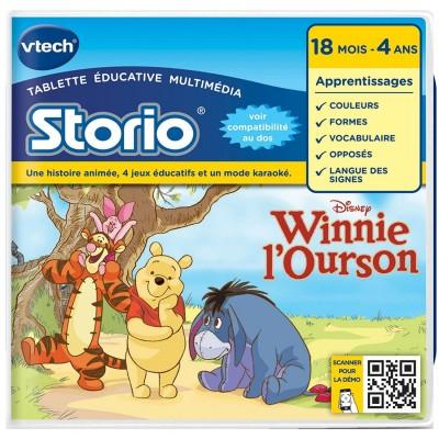 Vtech Jeu pour console de jeux Storio : Winnie l'ourson. Jeu pour console de jeux Storio : Winnie l'ourson