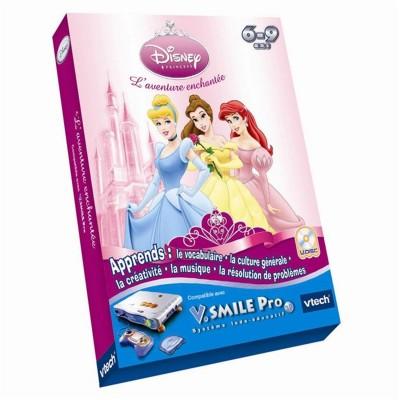 Vtech Jeu pour console de jeux Vsmile Pro : Princesses Disney