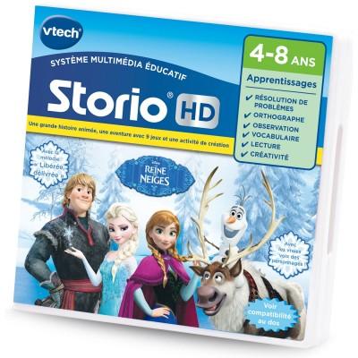 Vtech Jeu pour console de jeux Storio HD : La Reine des Neiges (Frozen). Jeu pour console de jeux Storio HD : La Reine des Neiges (Frozen)