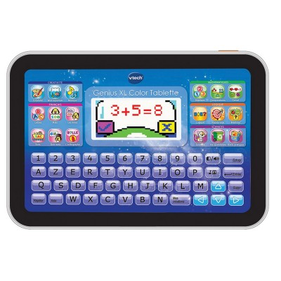 Vtech Console tablette Genius XL Color : Bleue. Console tablette Genius XL Color : Bleue