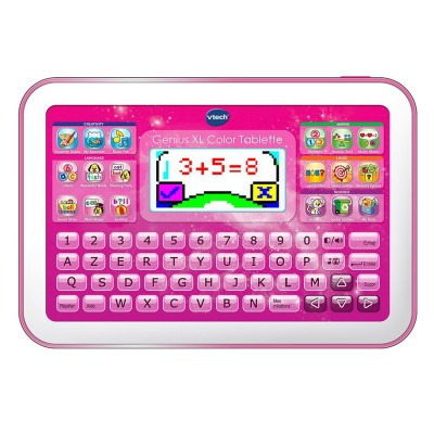 Vtech Console tablette Genius XL Color : Rose