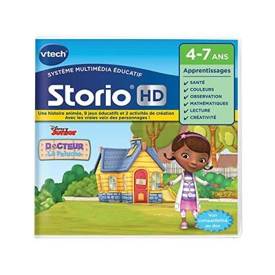 Vtech Jeu pour console de jeux Storio HD : Docteur La peluche