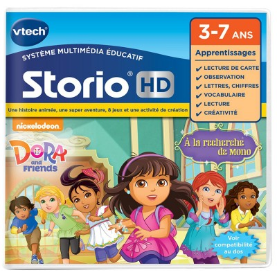 Vtech Jeu pour console de jeux Storio HD : Dora et ses amis. Jeu pour console de jeux Storio HD : Dora et ses amis