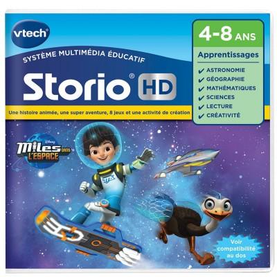 Vtech Jeu pour console de jeux Storio HD : Miles dans l'espace